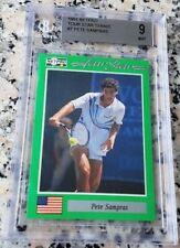 PETE SAMPRAS 1991 Netpro SP Rookie Card RC BGS 9 9.5 Legend HOF Grand Slam $$$
