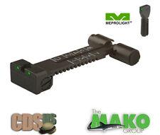 MEPROLIGHT MAKO Tactical  Tritium Self Illuminated Rifle Night Sight Set ML33115