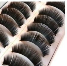 10 Pair Soft False Eyelashes Eyelash Full Lashes 017