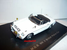 EAGLE'S RACE MGB  MK II BRITISH POLICE CAR au 1/43°