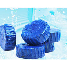 1x nuovo deodorante solido blu bolla Toilet Bowl Cleaner / Cleaners