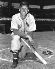 1953 St Louis Cardinals STAN MUSIAL Glossy 8x10 Photo Glossy Baseball Poster