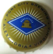 PORT CITY BREWING used Beer CROWN, Bottle CAP, Alexandria, VIRGINIA, NICE