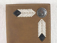 Buffalo Nickel Western Cowboy Checkbook Cover Wallet Billfold Checkbook