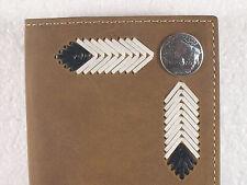 Buffalo Nickel Western Cowboy Checkbook Cover Wallet Billfold Checkbook