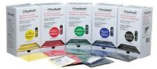 4- Red, Green, Blue, Black Thera-Band Set, Resistance Theraband Indiviual Packs