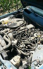 Mercedes Benz 300D W123 Turbo diesel 5 cylinder engine motor - runs well