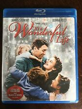 IT'S A WONDERFUL LIFE 1946  (BLU-RAY) B/W & COLORIZED 2 DISC James Stewart