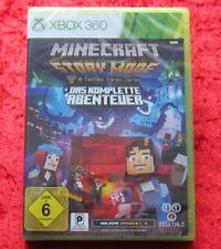 Minecraft Story Mode Das komplette Abenteuer, XBox 360 Spiel, Neu, deutsche Vers