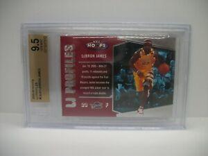 LEBRON JAMES 2005-06 Hoops LJ Profiles #LBJ23 BGS GEM MINT 9.5 Cavaliers