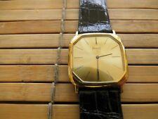 Klassische PIAGET 7702, 18 Karat Gelbgold, Kroko-Armband