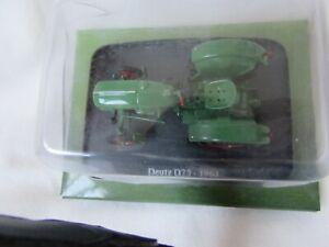 @Universal Hobbies Hachette Deutz D25-1963 Tractor Model-NEW@