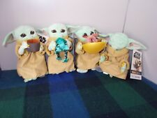 Disney Star Wars Mandalorian Baby Yoda The Child SET of 4 Plush Limited Edition