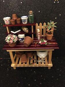 Reutter Porcelain Potting Table Gardening Bench