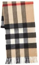 Burberry Large Mega Classic Check 100% Cashmere Scarf Made in Scotland 4031079