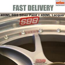 1x 400ML Aerosol German BBS Racing Satin Silver Paint + 400ML Lacquer E50 NEW