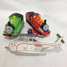 Vintage Lot 3 Thomas the Tank Engine Christmas Ornaments from 1993