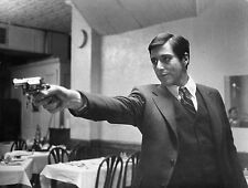 AL PACINO WITH GUN THE GODFATHER GANGSTER MAFIA MOB 8X10 PHOTO MOBSTER