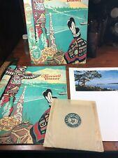 CANADIAN PACIFIC 1956 TOTEM POLE & NATIVE ARTWORK MENU ALASKA CRUISE Memorabil