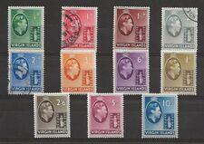 British Virgin Islands, Scott 76-86, mainly MH