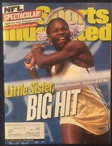 9.20.1999 SERENA WILLIAMS Sports Illustrated Tennis WINS U.S. OPEN