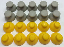 20 GameCube Joystick Caps 10 Left [Grey] and 10 Right [Yellow] Replacement Parts