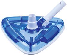 New listing Milliard See-Thru Pool Vacuum Head/Triangular, Weighted Base/for Inground & Viny