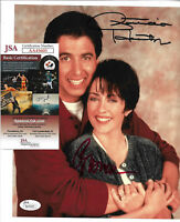 Ray Romano, Patricia Heaton Dual 8x10 Photo Auto Everybody Loves Raymond JSA COA