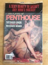 The Girls Of Penthouse Adult Magazine October 1993 Factory Sealed Porn XXX Sex