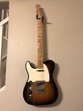 Left Handed Fender Telecaster Electric Guitar