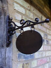 Ladenschild, Hausschild oval- Schild für Hausnummer, Namenschild Ausleger 18x13
