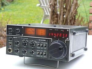 icom IC-211 2m-Band Amateurfunk Transceiver mit Mikro und BDA