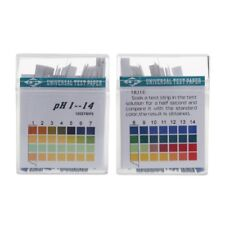 1-14 Ph 100 Strips Alkaline Acid Indicator Paper Water Saliva Litmus Testing Kit