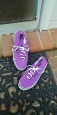 Men's Fila Purple Skate Shoes Sneakers Sz. 9.5