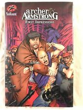 Valiant Archer & Armstrong First Impressions Hardcover Unread