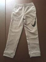NWT Nike Boys Youth Dri Fit Athletic Jogger Sweatpants Gunsmoke Gray Size 4 $38