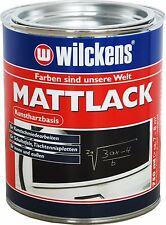Schultafel - Farbe , Tafellack, Tischtennisplatten Matt Lack 750 ml., schwarz,