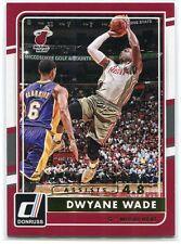 2015-16 Donruss Assists 107 Dwyane Wade 6/48