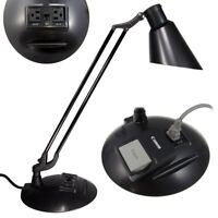 Diffrient Technology Desk Lamp Task Work Light With Built-In Outlets Humanscale