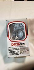 Delta  Polished Chrome Toothbrush Tumbler Holder New box slightly damaged.