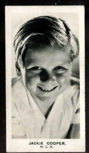 Tobacco Card, Walkers, FILM STARS, 1935, Jackie Cooper