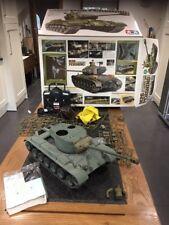 Tamiya 1:16 RC Tank M26 Pershing Unfinished Futaba Remote