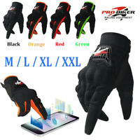 Touchscreen Pro-Biker Full Finger Gloves Men Street Motorcycle Dirt Bike Driving