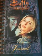 BUFFY VAMPIRE SLAYER  LINED ANTIOCH JOURNAL WITH ANGEL  UBER RARE 1998 LOOK!