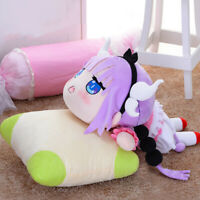 Anime Miss Kobayashi's Dragon Maid Kanna Cosplay Plush Stuffed Doll Toys Pillow