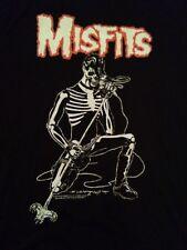 Misfits T-shirt SMALL black New philcos 100% cotton Rock Punk band