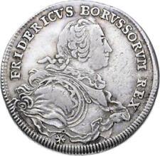 Brandenburg-Prussia - 1/2 Thaler 1752 BRESLAU-Friedrich II, 1740-1786