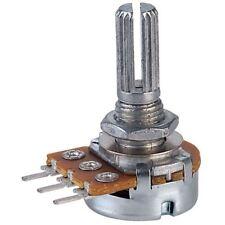 Taiwan Alpha 470k Log 16 mm Metal Case PCB Potentiomètre pot.