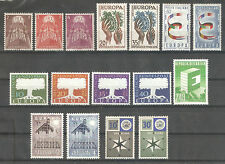 Europa CEPT 1957-1958 Collection Lot,incl.Luxembourg V$200++,VF MNH**OG (AR-1)