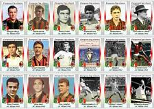 AC Milan European Cup winners 1963 football trading cards
